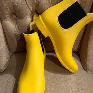 Jcrew rain boots women's size 8